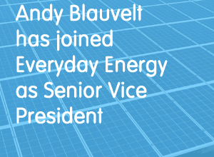 Affordable Housing Veteran Andy Blauvelt has joined  Everyday Energy as Senior Vice President